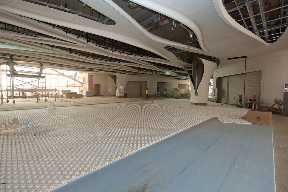 3 Project update: Riyadh Metro's KAFD station in Saudi Arabia